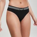 Seamless 无缝系列 女士内裤 - 黑 - XS