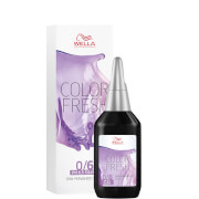 Wella Professionals Color Fresh Semi-Permanent Colour - 0/6 Silver Violet 75ml