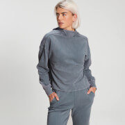 MP Women's Raw Training Washed Hoodie - Galaxy