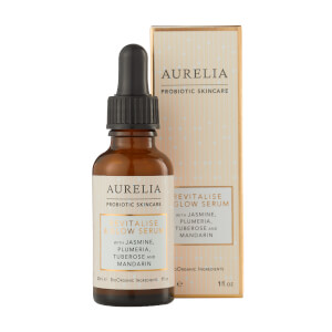 Aurelia Probiotic Skincare Revitalise & Glow and Cell Repair Night Oil (Free Gift)