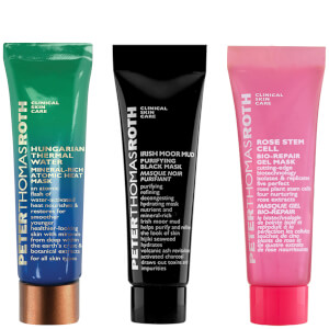 Peter Thomas Roth Set of 3 August Face Mask Bundle