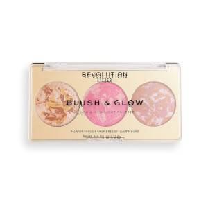 Revolution Pro Blush & Glow Palette - Rose Glow 2.8g