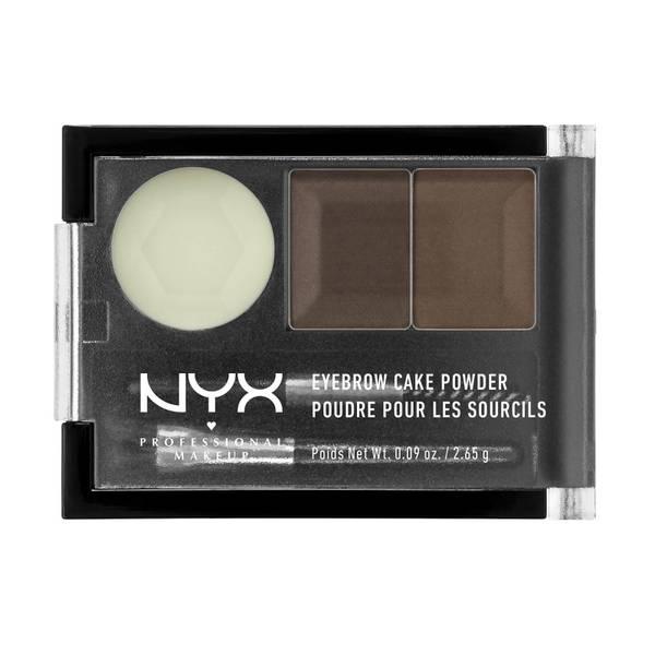 NYX 双色眉粉 | 黑棕色