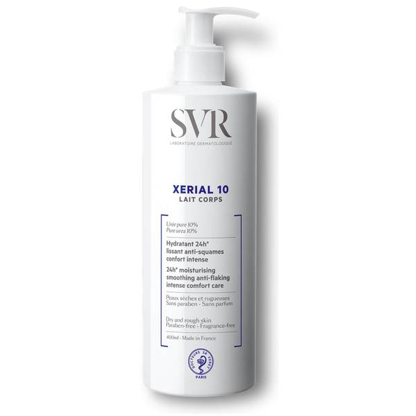 SVR Xerial 10 Body Lotion for Extremely Dehydrated + Flaking Skin - 400ml