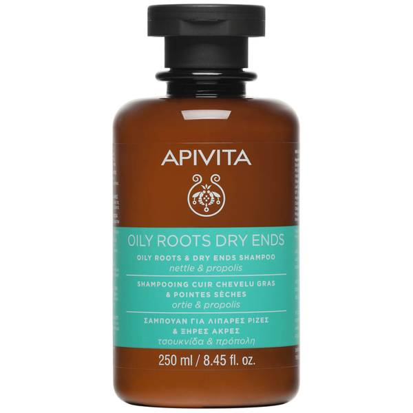 APIVITA 全面护发系列油性发根及干性发尾用洗发水 250ml | 荨麻和蜂胶