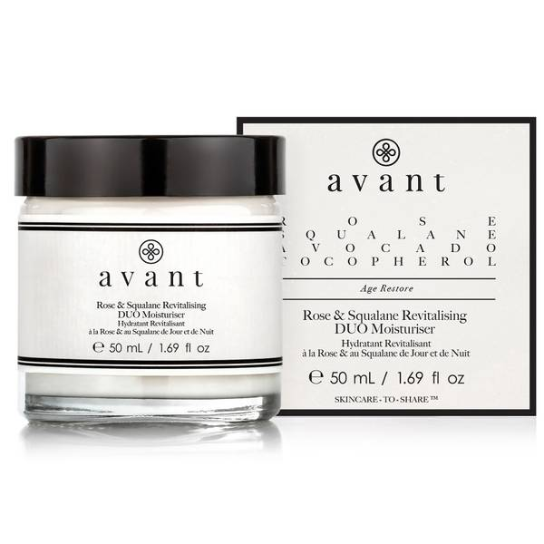Avant Skincare 玫瑰和角鲨烷活化双重润肤霜 50ml