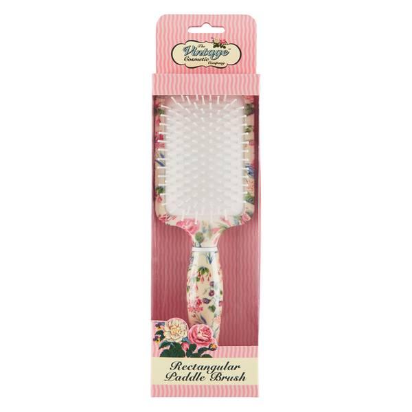 The Vintage Cosmetic Company 花朵图案长桨形发梳