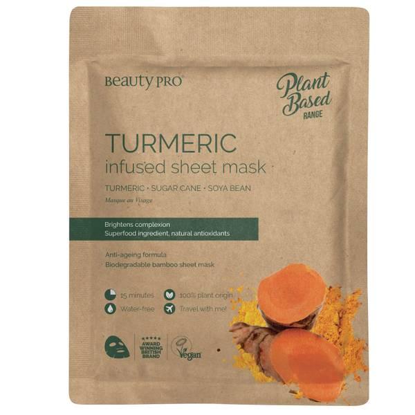 BeautyPro Turmeric Brightening Sheet Mask 22ml