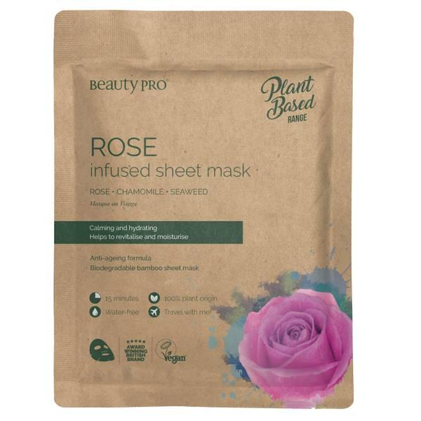 BeautyPro Rose Calming Sheet Mask 22ml