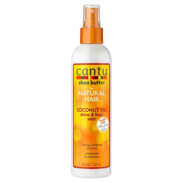 Cantu 乳木果油椰油亮发持久喷雾 237ml   适合天然头发
