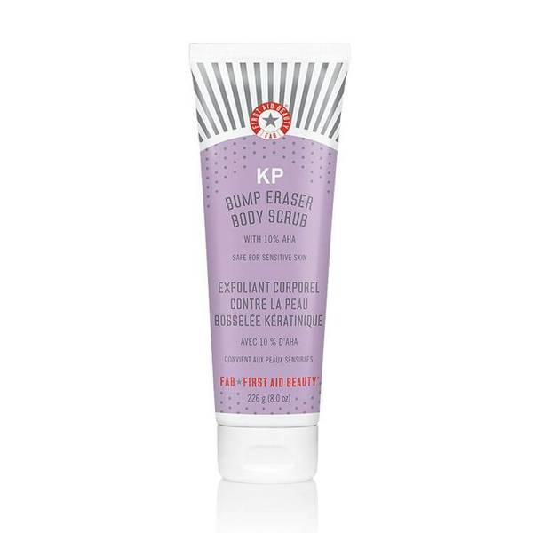 First Aid Beauty KP Bump Eraser Body Scrub with 10% AHA 226ml