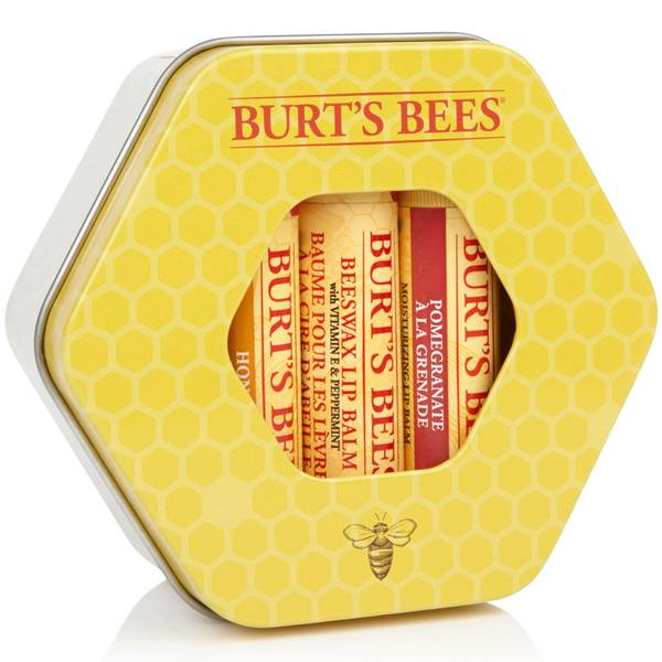 Burt's Bees Trio Tin Gift Set