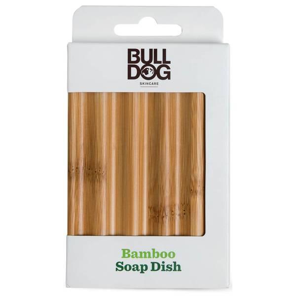 Bulldog Bamboo Soap Dish