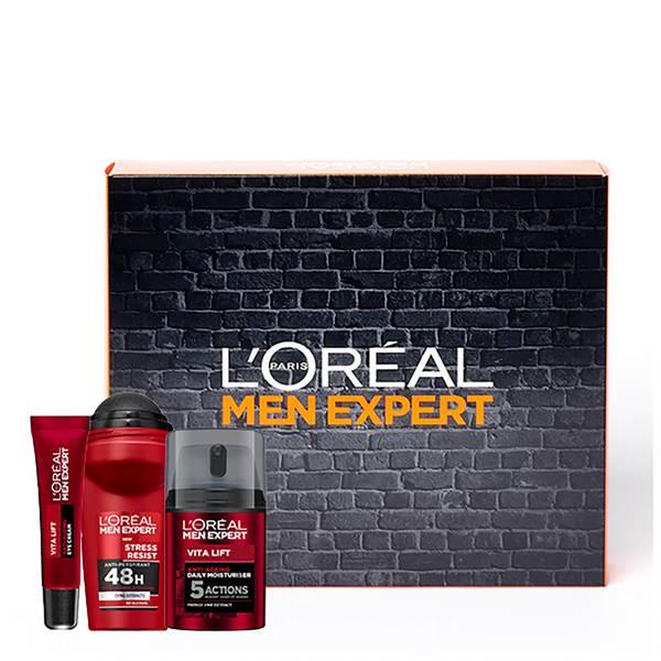 L'Oréal Paris Men Expert Anti-Ageing Moisturiser Regime Kit