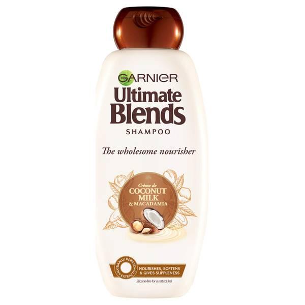 Garnier Ultimate 多元养护椰奶洗发水 360ml | 适合干性发质
