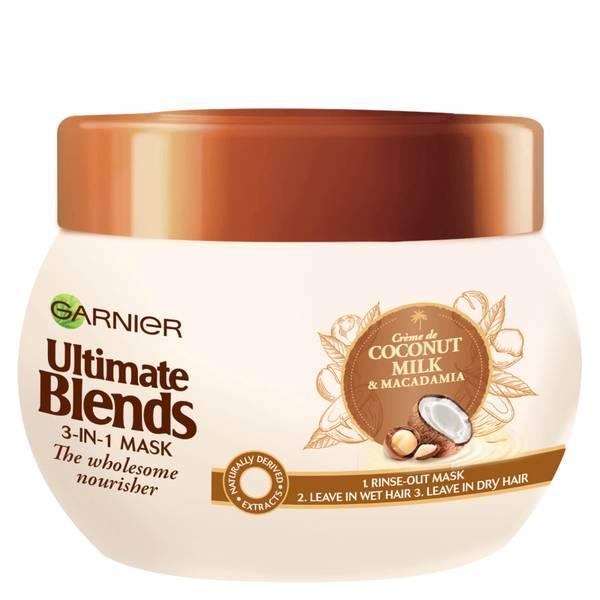 Garnier 椰奶强韧护发膜 300ml | 适合干性发质
