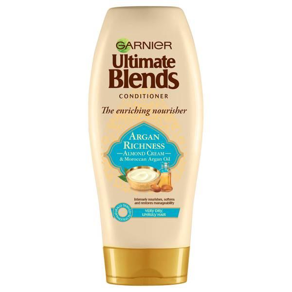 Garnier Ultimate 多元养护摩洛哥坚果油与杏仁乳护发素 360ml | 适合干性发质