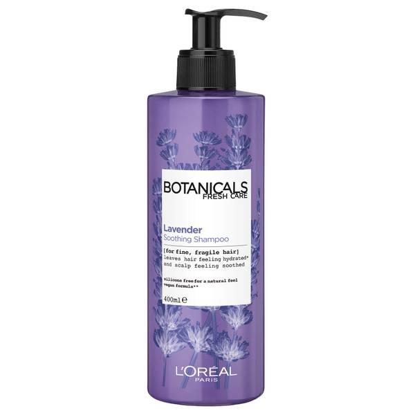 巴黎欧莱雅植物薰衣草洗发水 400ml | 适合细软发质