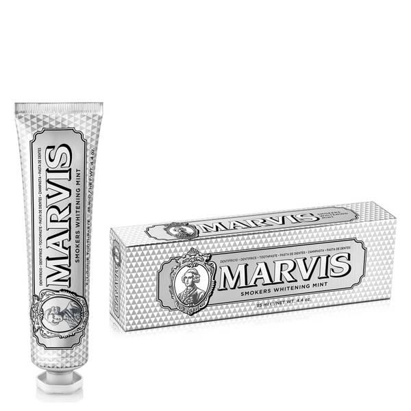Marvis 美白薄荷牙膏 85ml | 适合吸烟者