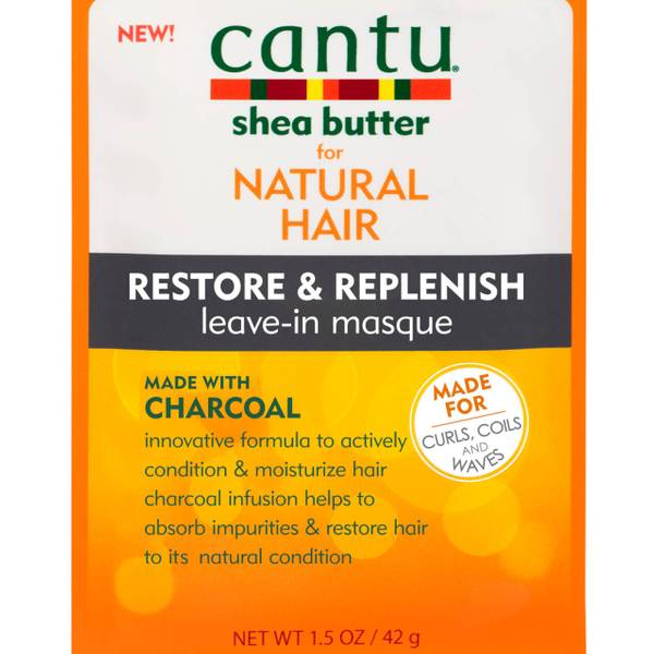 Cantu Charcoal Sweat Protection Masque 42g