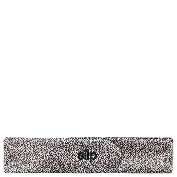 Slip 真丝魅力发带 | 豹纹