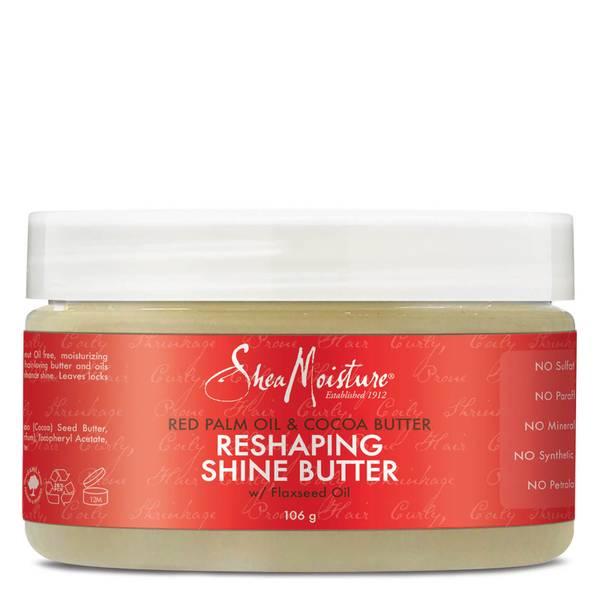 Shea Moisture 红棕榈油与可可脂亮发霜 106g
