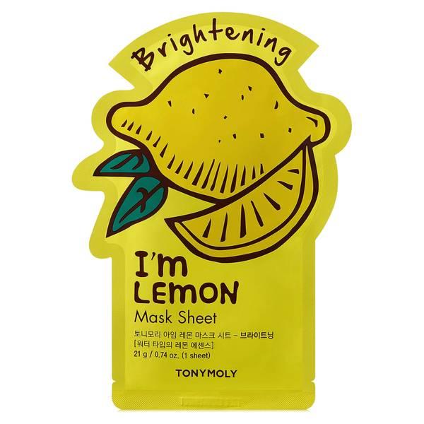 TONYMOLY 我是柠檬片状面膜 21g