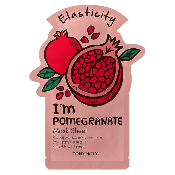 TONYMOLY I'm Pomegranate Sheet Mask 21ml