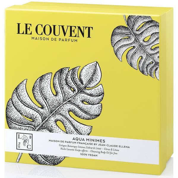 Le Couvent Gift Set Botanical Cologne Aqua Minimes and Amorem Shower Oil Coffret