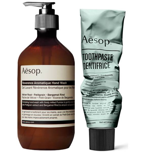 Aesop Hand Wash and Toothpaste Duo
