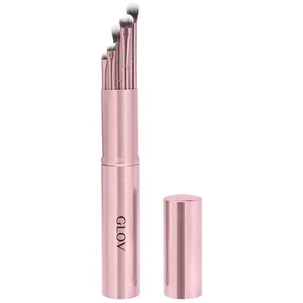 GLOV Eye Makeup Brushes Pink