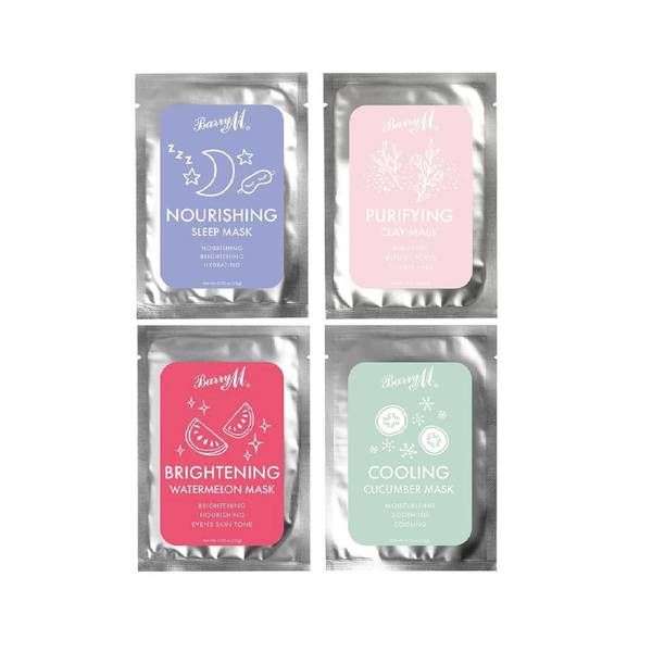 Barry M Cosmetics Relax & Recharge Face Mask Pack