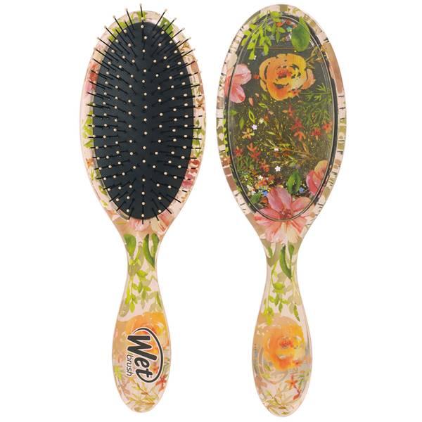 WetBrush Liquid Glitter Detangler Brush - Flickering Florals