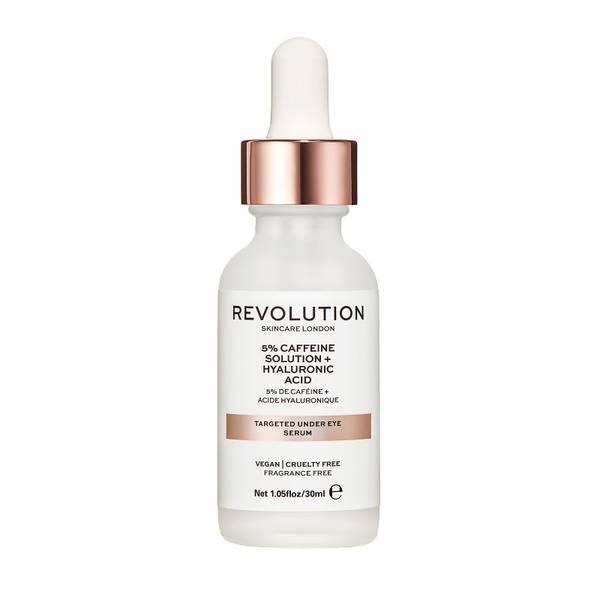 Revolution Beauty Targeted Under Eye Serum - 5% Caffeine + Hyaluronic Acid Serum