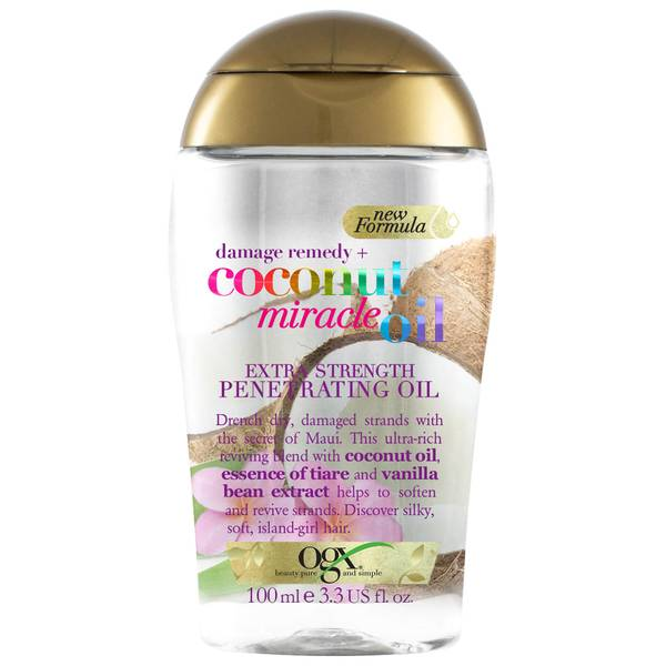 OGX Damage Remedy+ Coconut Miracle Oil Extra Strength Penetrating Oil 100ml