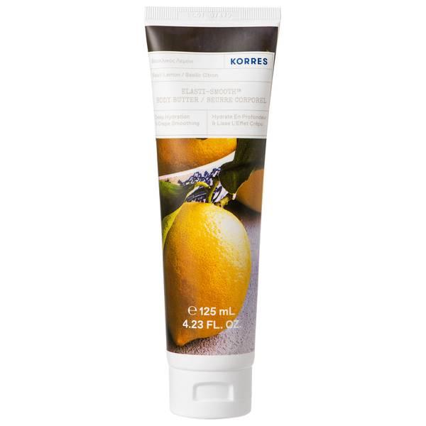KORRES Elasti-Smooth Basil Lemon Body Butter 125ml