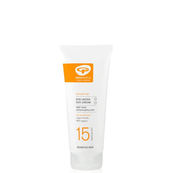 Green People Sun Lotion with Natural Tan Accelerator SPF15