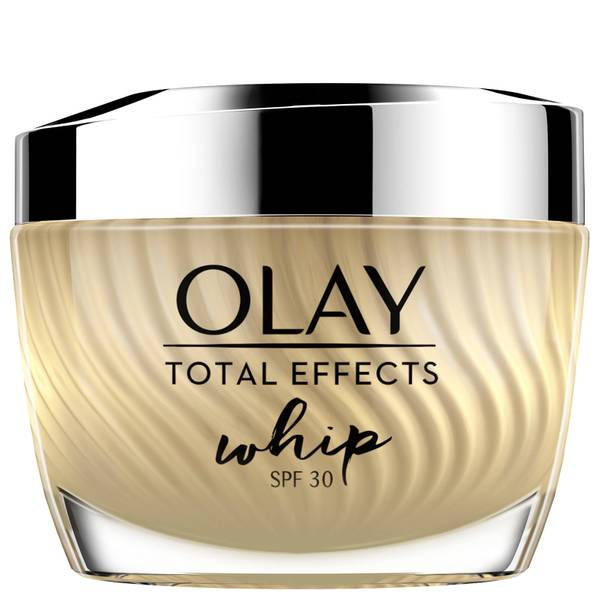 Olay Total Effects Whip Light as Air SPF30 Moisturiser with Vitamin C and E Cream for Healthy-Looking Skin 50ml