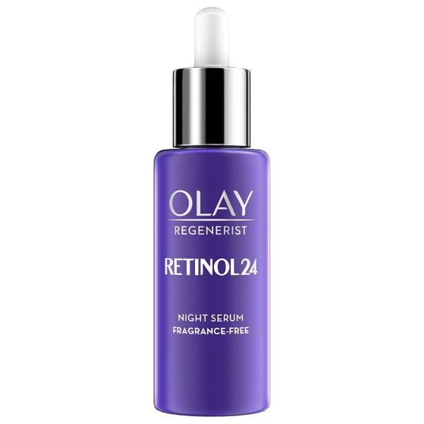 Olay Retinol 24 Fragrance Free Night Serum for Smooth and Glowing Skin 40ml