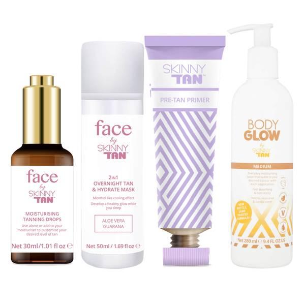 Skinny Tan Face and Body Glow Bundle