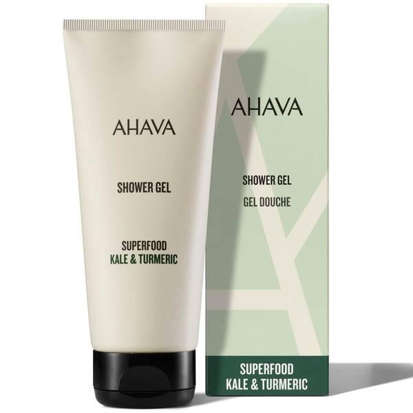 AHAVA Kale and Turmeric Shower Gel 200ml
