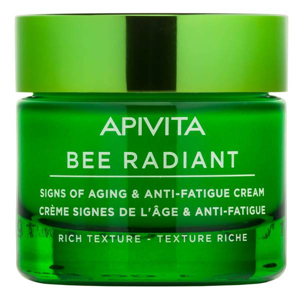 APIVITA Bee Radiant Signs of Ageing and Anti-Fatigue Cream - Rich Texture 50ml
