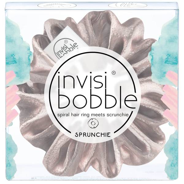 Exclusive invisibobble Pun Intended Sprunchie - Pink Satin