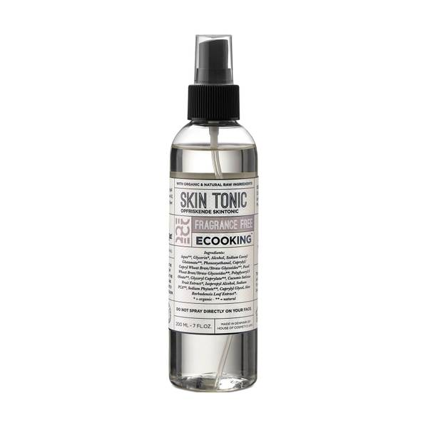 Ecooking Skin Tonic Fragrance Free 200ml