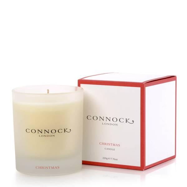 Connock London Christmas Candle 220g