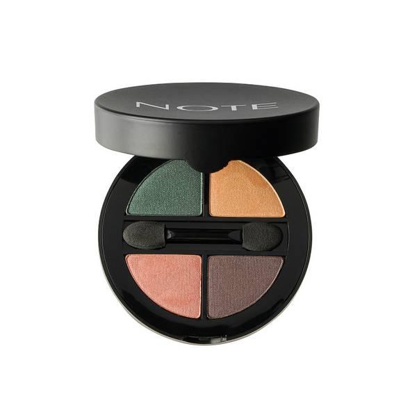 Note Cosmetics Luminous Silk Quattro Eye Shadow - SQE-2