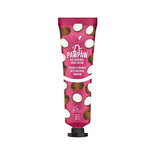 Dr. PAWPAW Age Renewal Hand Cream Cocoa & Coconut 30ml