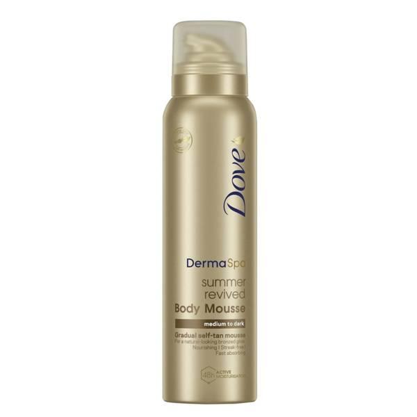 Dove Derma Spa Gradual Self Tan Mousse Medium to Dark 150ml