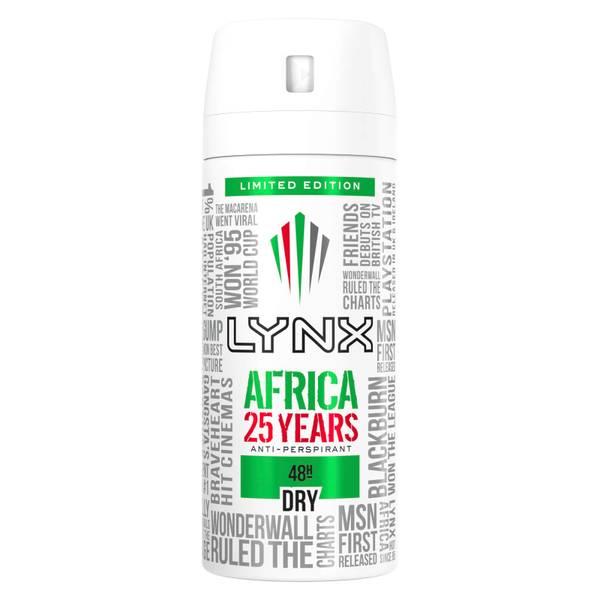 Lynx Antiperspirant Africa 150ml