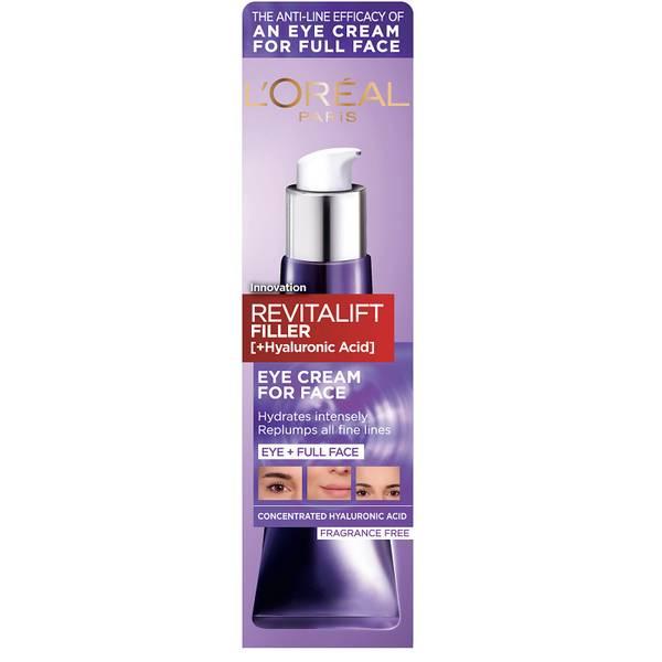L'Oréal Paris Revitalift Filler [+ Hyaluronic Acid] Eye Cream 30ml